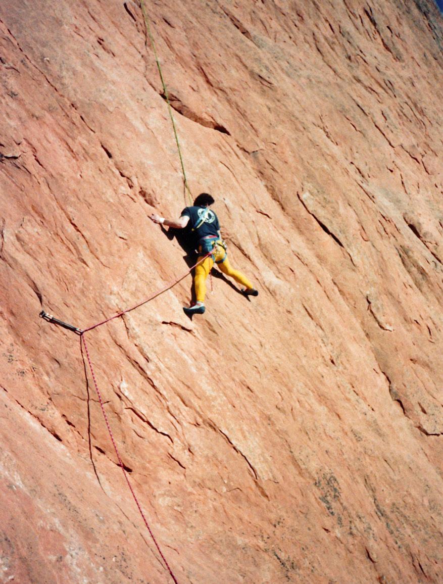 Garden of the gods colorado rock climbing - Garden of the gods rock climbing ...