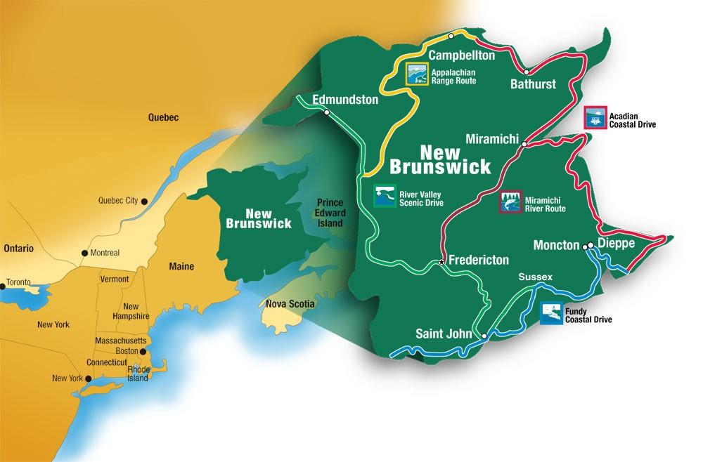 Image Gallery New Brunswick Canada
